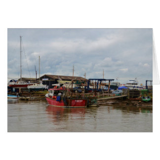 Fishing Boat Crofter Card