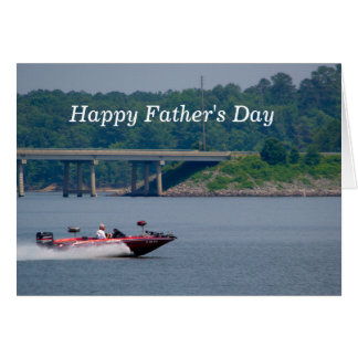 Fishing Boat Father's Day Card
