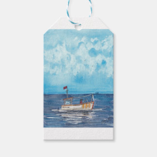 Fishing Boat Gift Tags