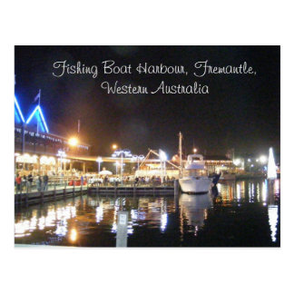, Fishing Boat Harbour, Fremantle, West... Postcard