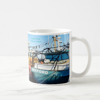 Fishing Boat image for Classic White Mug