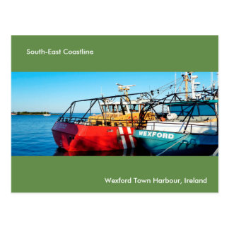 Fishing Boat image for postcard
