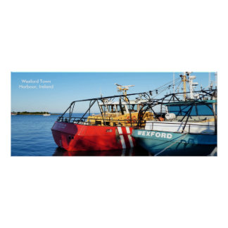 Fishing Boat image for poster