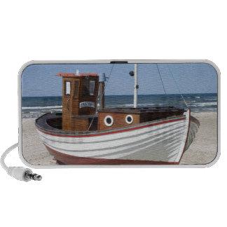 Fishing Boat Image Laptop Speakers