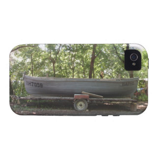 Fishing Boat In The Woods iPhone 4/4S Case