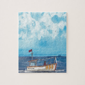 Fishing Boat Jigsaw Puzzle