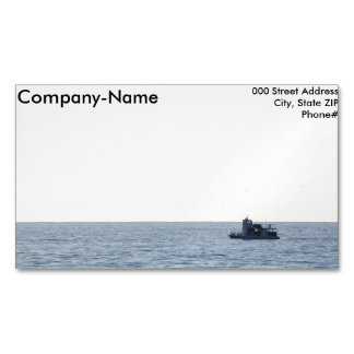 Fishing Boat Magnetic Business Cards