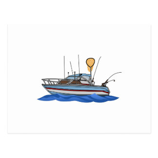 Fishing Boat Postcard