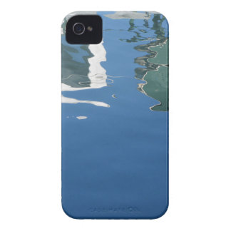 Fishing boat reflects in the water iPhone 4 Case-Mate cases