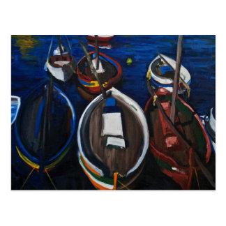 Fishing Boats at Sète Postcard