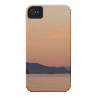 Fishing Boats At Sunset iPhone 4 Cover