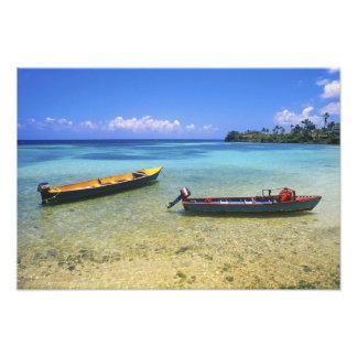 Fishing Boats, Boston Beach, Port Antonio, Photo Art