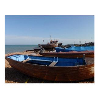 Fishing Boats In Kent Postcard