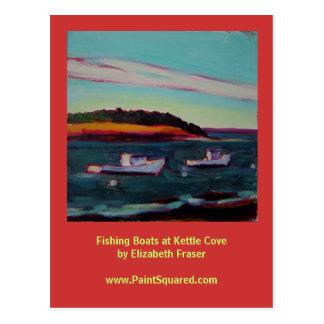 Fishing Boats • Kettle Cove • Maine Coast Postcard