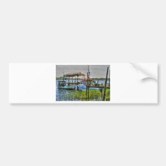 Fishing Boats on Ruegen Island Bumper Sticker