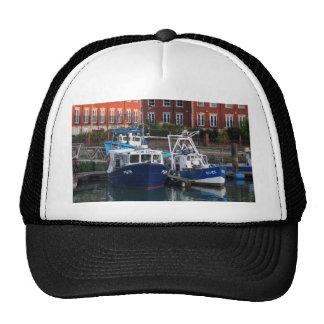Fishing boats, Portsmouth, England Cap