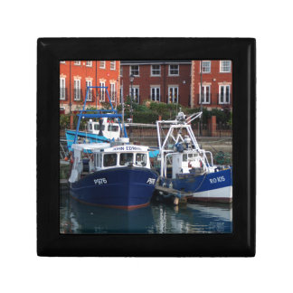 Fishing boats, Portsmouth, England Gift Box