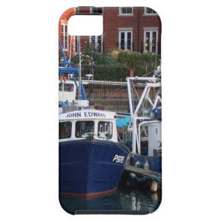 Fishing boats, Portsmouth, England iPhone 5 Case