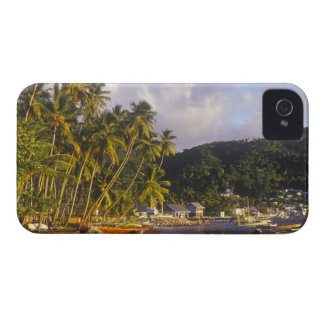 Fishing boats, Soufriere, St Lucia, Caribbean Blackberry Bold Covers
