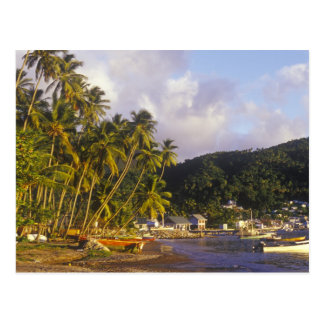 Fishing boats, Soufriere, St Lucia, Caribbean Postcard