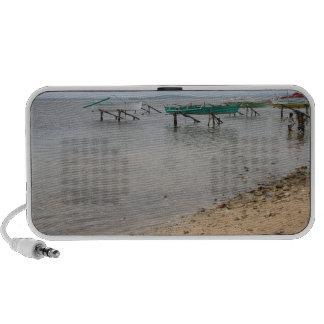 Fishing boats iPod speakers