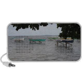 Fishing boats iPhone speaker