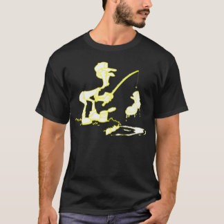 Fishing Boot Yellow T-Shirt