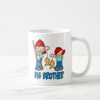 Fishing Buddies Big Brother Coffee Mugs