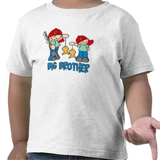 Fishing Buddies Big Brother Shirts