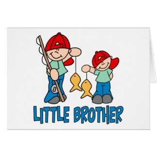 Fishing Buddies Little Brother Card