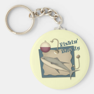 Fishing Buddy T-shirts and Gifts Keychain