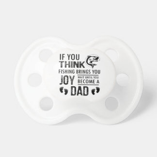 Fishing Dad Baby Pacifiers