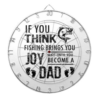 Fishing Dad Dartboard