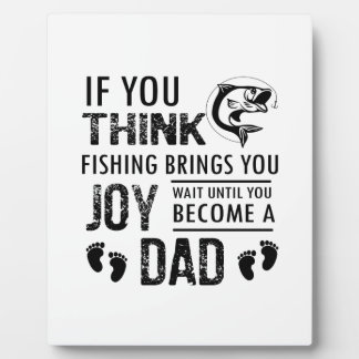 Fishing Dad Plaque