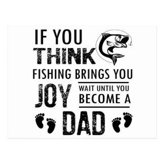 Fishing Dad Postcard