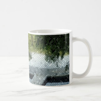 Fishing Dock Mosaic Mug