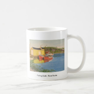 Fishing Dock - Nova Scotia Coffee Mug