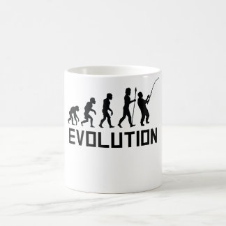Fishing Evolution Coffee Mug
