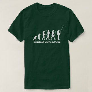 Fishing Evolution Funny Fisherman T-Shirt