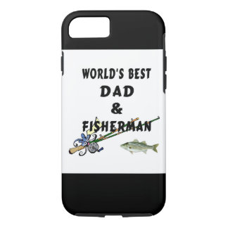 Fishing Father Best Dad iPhone 8/7 Case