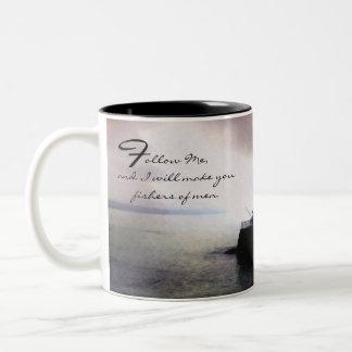 Fishing / Fisherman Inspirational Collection Two-Tone Coffee Mug