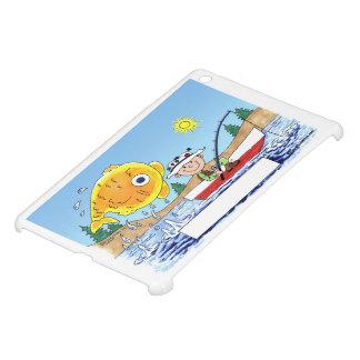 Fishing, Fisherman - Personalized Cartoon Case For The iPad Mini