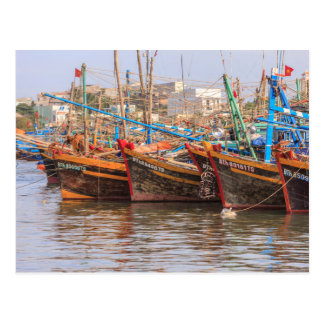 Fishing fleet postcard