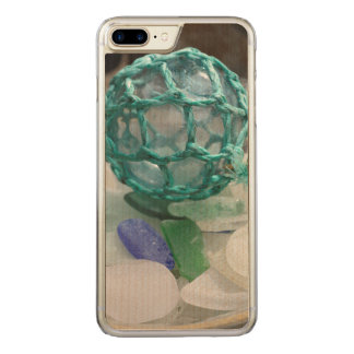 Fishing float on glass, Alaska Carved iPhone 8 Plus/7 Plus Case