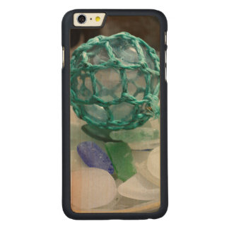 Fishing float on glass, Alaska Carved Maple iPhone 6 Plus Case