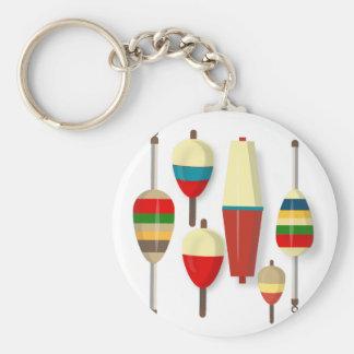 Fishing Floats / Bobbers Key Ring