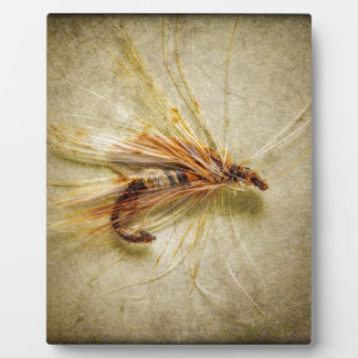 Fishing Fly Plaque