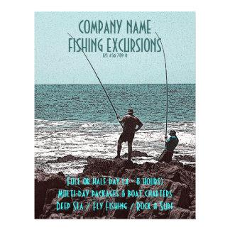 Fishing flyers - customizable