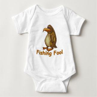 Fishing Fool Baby Bodysuit