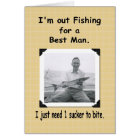 Fishing for Best Man? Card
